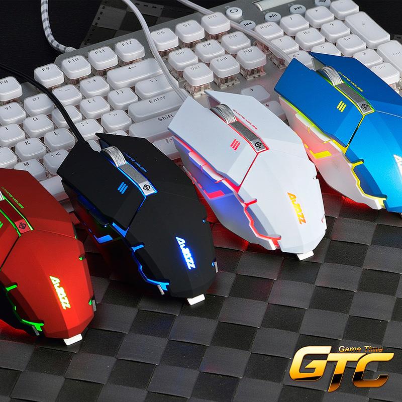 黑爵GTC游戏机械鼠标有线 加重电竞usb台式电脑绝地求生lol宏鼠标