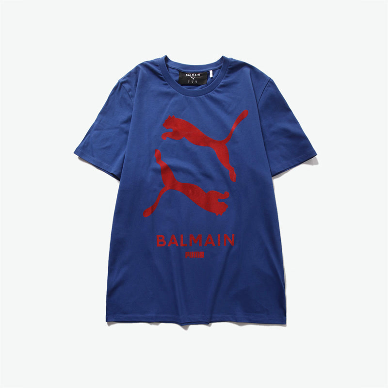 PUMA X BALMAIN GRAPHIC 男女同款短袖T恤 <潮流合伙人>
